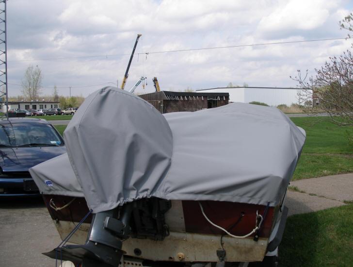 Стояночный чехол для лодки своими руками