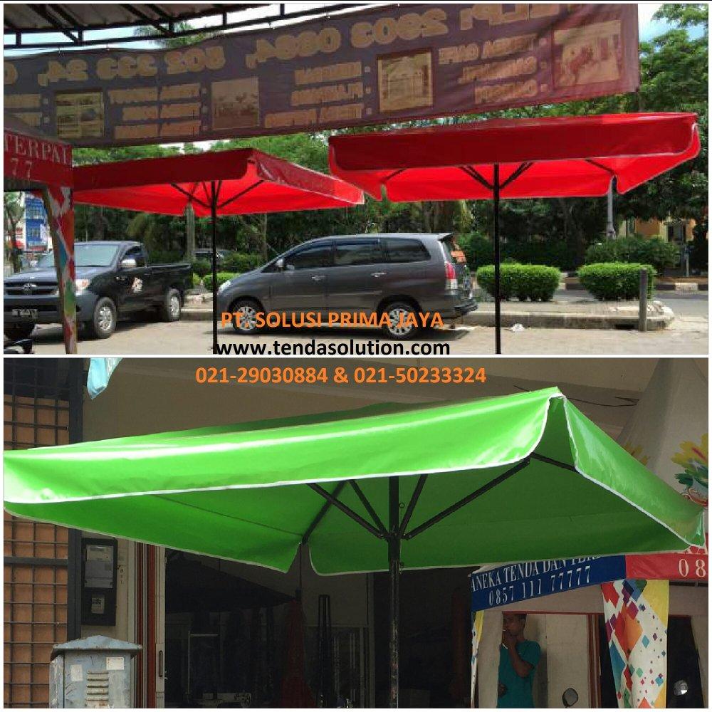 Harga Tenda Payung Murah Tendasolution Paayungg Hitam Besarr