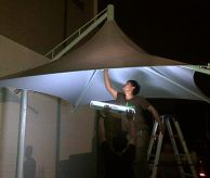 Tenda Membrane / tension shade MEMBRANE PAYUNG