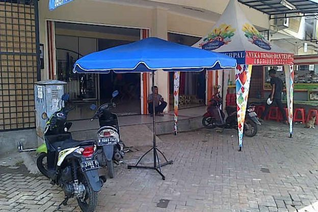 TENDA PAYUNG DISPLAY - RANGKA BESI 02 besi2