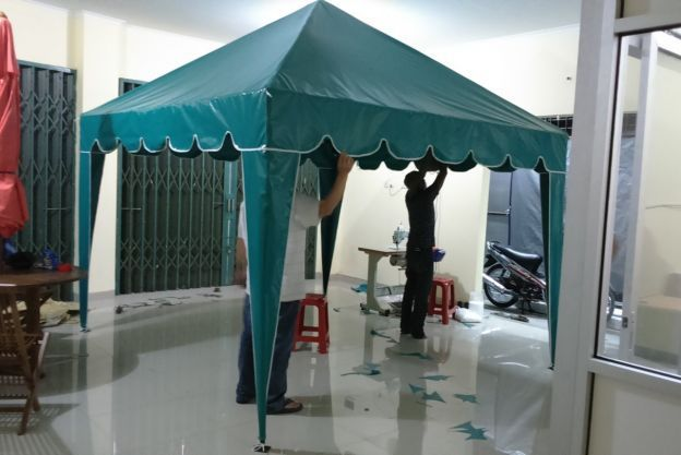 TENDA CAFE PIRAMIDA DESIGN RUMBAI GELOMBANG / TCP 01 tc01
