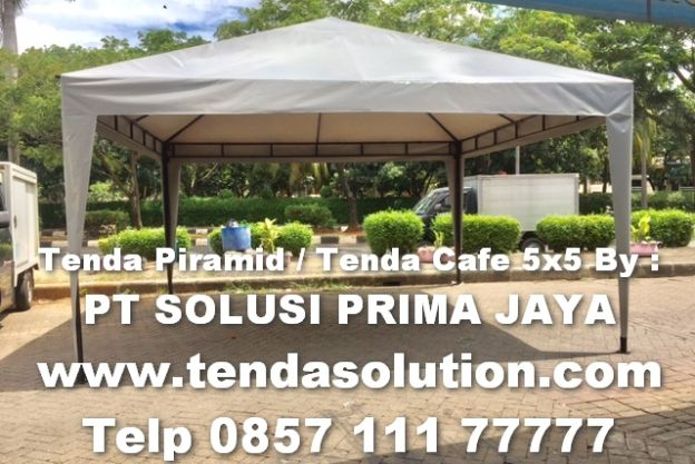 TENDA PIRAMID / TENDA GAZEBO 5X5 / TCP 20 tenda_cafe_5x5