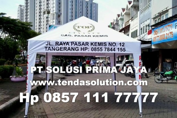 TENDA PIRAMID PROMOSI BRANDING TOP FINANCE / TCP 19 tenda_cafe_top_finance