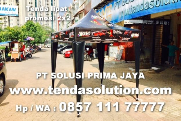 TENDA LIPAT PROMOSI DESIGN ARTIC - TPR 18 tenda_lipat_2x2_artic