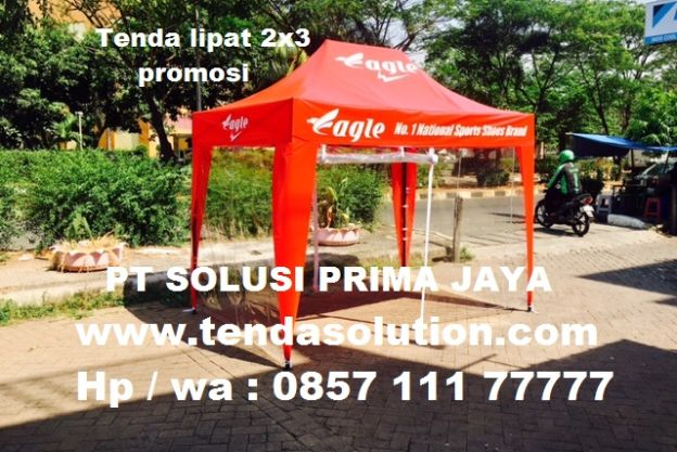 TENDA LIPAT 2X3 PROMOSI DESIGN EAGLE - TP 22 tenda_lipat_2x3_eagle