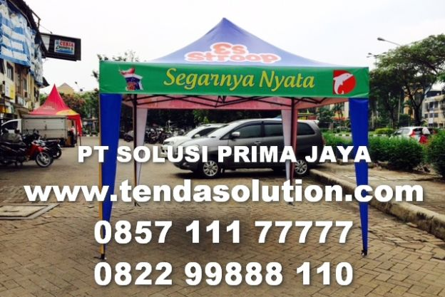 TENDA LIPAT PROMOSI DESIGN ESTROOD / TL 34 tenda_lipat_estrood