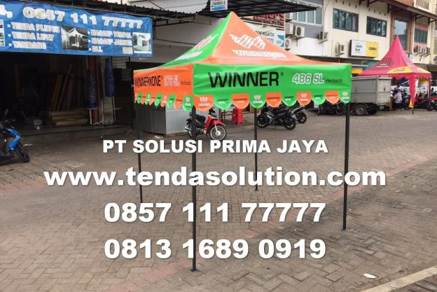 TENDA LIPAT 2X2 DESIGN WINNER / TL 28 tenda_lipat_winner