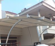 Tenda Membrane / tension shade MEMBRANE CARPORT  AWNING MEMBRANE