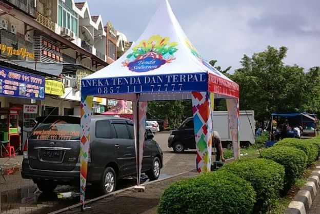 TENDA KERUCUT DIGITAL PRINTING HIGH RESOLUTION / TK 03 tk_03
