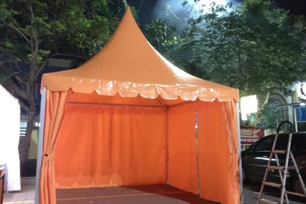 TENDA SARNAFIL MOTIF ORANGE / TS 06 ts06
